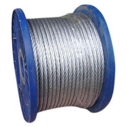 Galvanized Steel Wire Rope from CARRY ON BUILDING EQUIPMENT RENTAL LLC