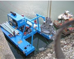 CUSTOM BUILT DREDGING PONTOON Supplier in Abu Dhabi from ACE CENTRO ENTERPRISES