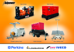 Diesel Generators from ADPOWER FZCO WWW.ADPOWER.AE