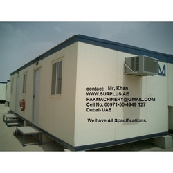 we sale Portacabin, Prefab Houses for sale in UAE from SURPLUS TRADE GENERAL TRADING LLC