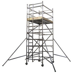 Aluminium Scaffolding from CARRY ON BUILDING EQUIPMENT RENTAL LLC