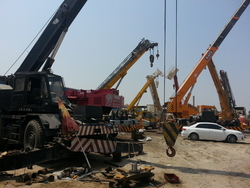 CRANES RENTALS BUY SELL & REPAIRS from AL BAIT AL MALAKI TENTS & SHADES. +971553866226