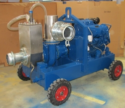 LEO 6-inch Vacuum-Assisted Centrifugal Pumps from LEO ENGINEERING SERVICES LLC