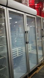 DOUBLE GLASS DOOR BOTTLE COOLER-  from SIS TECH GENERAL TRADING LLC