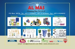Cleaning Tools from AL MAS CLEANING MAT. TR. L.L.C