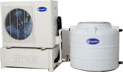 Domestic water chillers dubai from SAFARIO COOLING FACTORY LLC