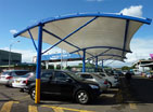 CAR PARK SHADES from ELEGANCE SHADES & DECOR