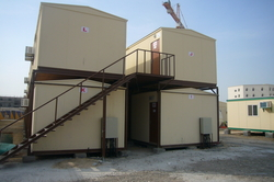 Double Storey Accommodation from LIBERTY BUILDING SYSTEMS FZC