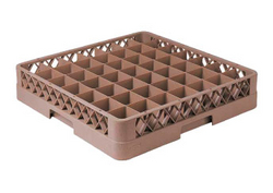 49 - COMPARTMENT GLASS RACK UAE from MIDDLE EAST HOTEL SUPPLIES