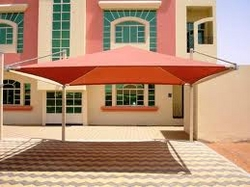 CAR PARK SHADE FOR CONTRACTORS SHARJAH 0553866226 from AL BAIT AL MALAKI TENTS & SHADES. +971553866226
