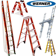 WERNER LADDERS from BETTER CHOICE BUILDING MATERIAL TRD. LLC