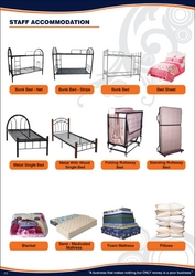 CAMP SUPPLY BUNK BED LOCKER PILLOW BED SHEET from ABILITY TRADING LLC