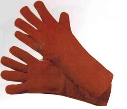 RED WELDING GLOVES  from EXCEL TRADING COMPANY - L L C