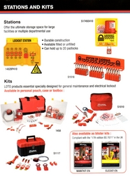 PADLOCK STATIONS & KITS from LUTEIN GENERAL TRADING L.L.C