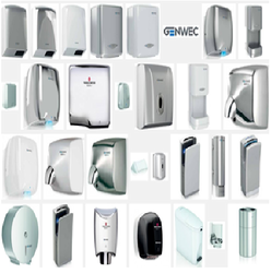 GENWEC HAND DRYER SUPPLIERS IN UAE from ROYAL CITY ELECTRICAL APPLIANCES LLC