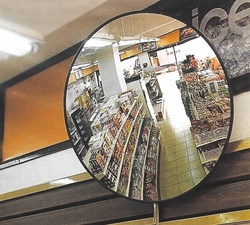 Polycarbonate (PC) Anti-Theft Convex Mirror 30 cm  from A ONE TOOLS TRADING LLC
