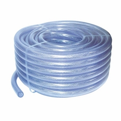 PVC Transparent Reinforced Hose 6 mm - 14 mm x 25  from A ONE TOOLS TRADING LLC