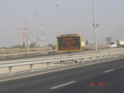 Variable Message Signs (VMS)  from ARABIAN EQUIPMENT RENTAL LLC