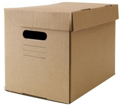 Storage Box With Lid - Brown from FINECO GENERAL TRADING LLC UAE