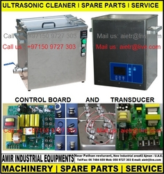 ULTRASONIC CLEANER, SPARE PARTS, SERVICE, UAE,GULF from AMIR INDUSTRIAL EQUIPMENTS