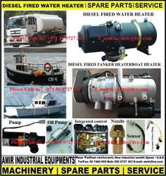 Diesel fired heater, Marin liquid heater UAE, GULF from AMIR INDUSTRIAL EQUIPMENTS