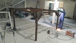 Steel Structure (Compressor Frame Table) from ABDUL JABBAR GENERAL CONTRACTING LLC