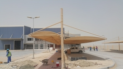 Walk Ways Structure & Sunshades from ABDUL JABBAR GENERAL CONTRACTING LLC