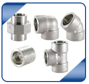 Stainless & Duplex Steel Forged Fittings from RAJRATAN STEEL CENTRE