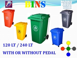 Garbage Bins Supplier from DAITONA GENERAL TRADING (LLC)