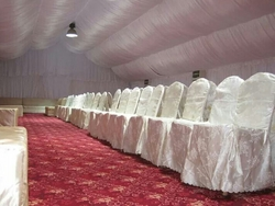 Wedding Decoration Light, String Light, Color Wash from AL BAIT AL MALAKI TENTS & SHADES +971522124675