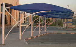 PVC CAR PARK SHADES IN UAE +971553866226 from AL BAIT AL MALAKI TENTS & SHADES +971522124675