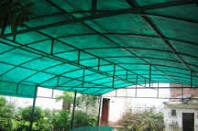 FIBERGLASS CAR PARKING SHADES IN UAE from AL BAIT AL MALAKI TENTS & SHADES +971522124675