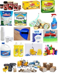 OFFICE PANTRY FOOD ITEMS / CLEANING ITEMS SUPPLIES from MINCORP TRADING LLC