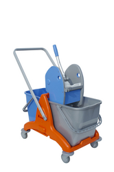 Double Mop Buckets Plastic In UAE from DAITONA GENERAL TRADING (LLC)