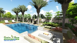 SWIMMING POOL CONTRACTORS INSTALLATION & MAINTENANCE from CREATIVE CHARM LANDSCAPING & POOLS