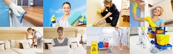 CLEANING & JANITORIAL SERVICES & CONTRS from SPARKLE UNIQUE