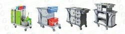 Housekeeping Trolleys In UAE from DAITONA GENERAL TRADING (LLC)