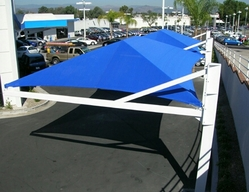 CAR PARK SHADES IN AJMAN +971522124675 from AL BAIT AL MALAKI TENTS & SHADES +971522124675