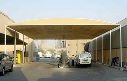 CAR SHADES STURCTURES IN UAE +971522124675 from AL BAIT AL MALAKI TENTS & SHADES +971522124675