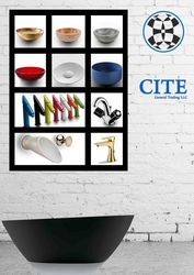 Luxury Bathroom Fittings Suppliers in UAE from CITE GENERAL TRADING LLC