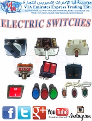 ELECTRIC SWITCH & LAMP مفتاح كهرباء/ لمبة إشارة from VIA EMIRATES EXPRESS TRADING EST