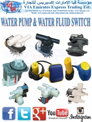 WATER PUMP & WATER FLUID SWITCH مضخة ماء from VIA EMIRATES EXPRESS TRADING EST