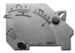 Weld Gauge from JUBILANT CALIBRATION & MEASUREMENT SERVICES LLC