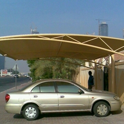 Shades Parking Shades Suppliers in Dubai UAE from AL BAIT AL MALAKI TENTS & SHADES +971522124675