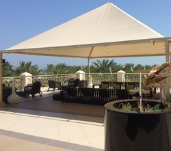 UMBRELLA SHADES IN UAE from DOORS & SHADE SYSTEMS