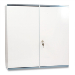 Budapest Metal Wall Cabinet  White from ARASCA MEDICAL EQUIPMENT TRADING LLC