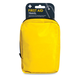 Travel First Aid Kit  in Large Yellow Borsa Bag from ARASCA MEDICAL EQUIPMENT TRADING LLC