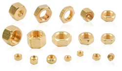 brass nut  from KRISHI ENGINEERING WORKS