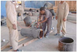 Steel Pipe Gas Cutting from ABDUL JABBAR GENERAL CONTRACTING L.L.C.