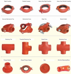 GROOVED FITTINGS SUPPLIERS IN DUBAI from AL ASHKAR TRADING CO
